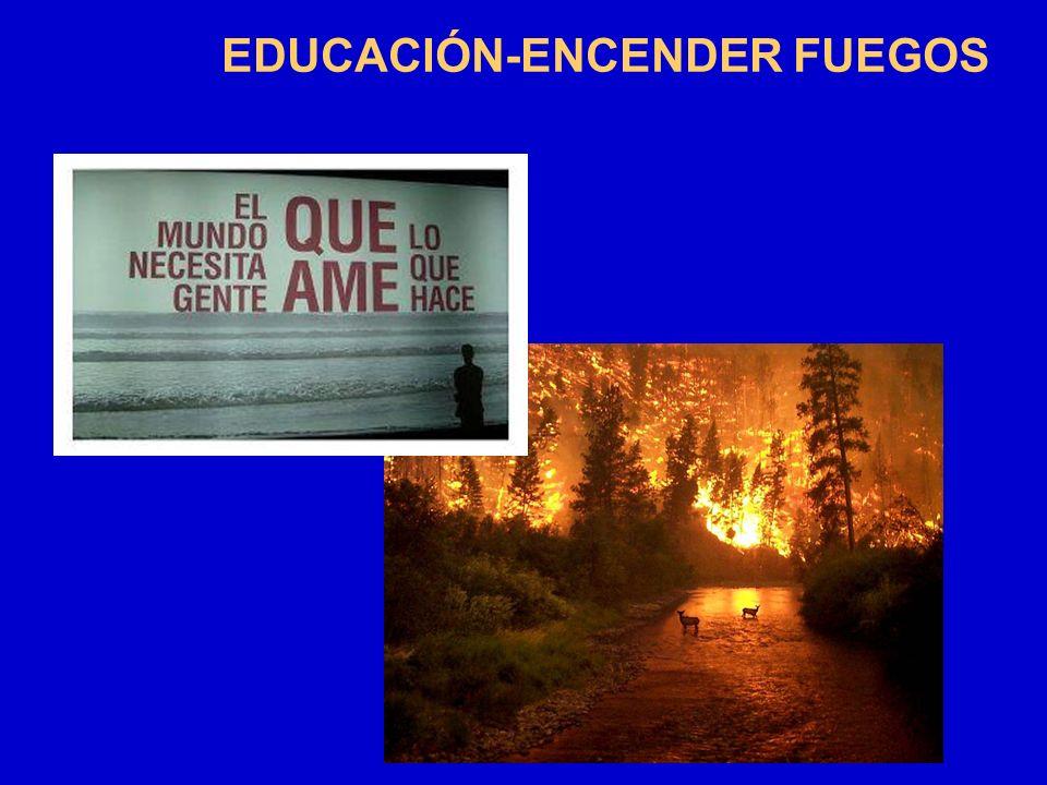 EDUCACIÓN-ENCENDER FUEGOS