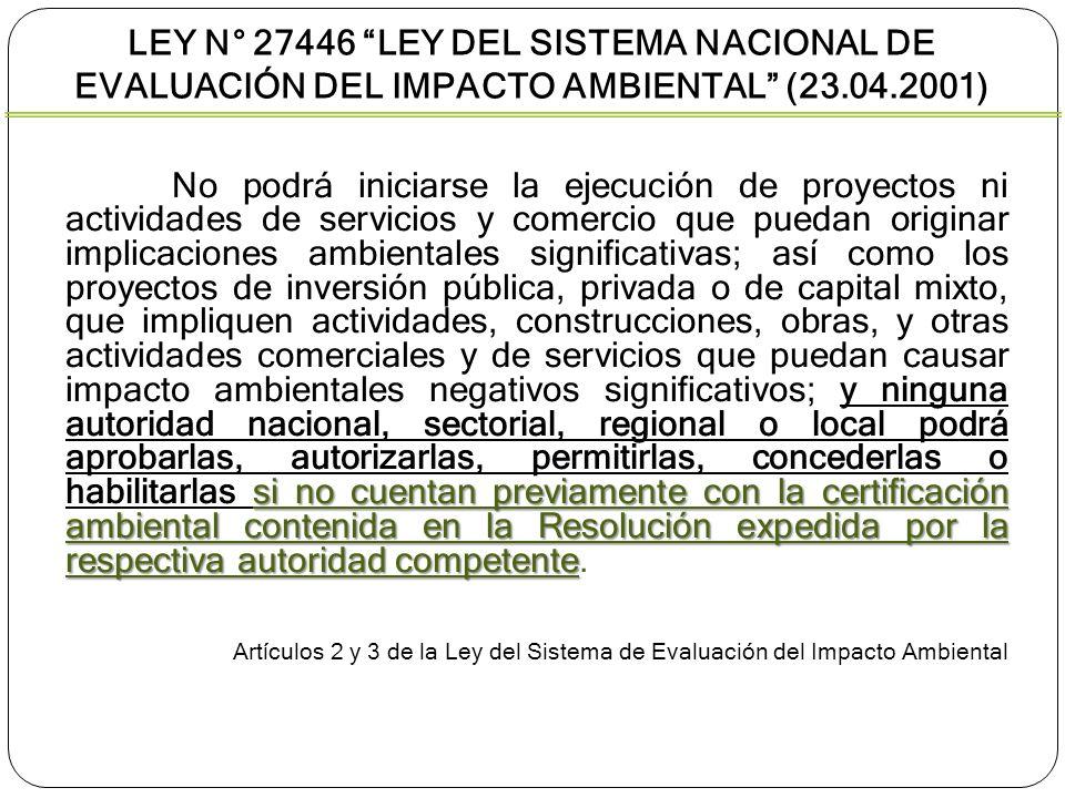 si no cuentan previamente con la certificación ambiental contenida en la Resolución expedida por la respectiva autoridad competente No podrá iniciarse