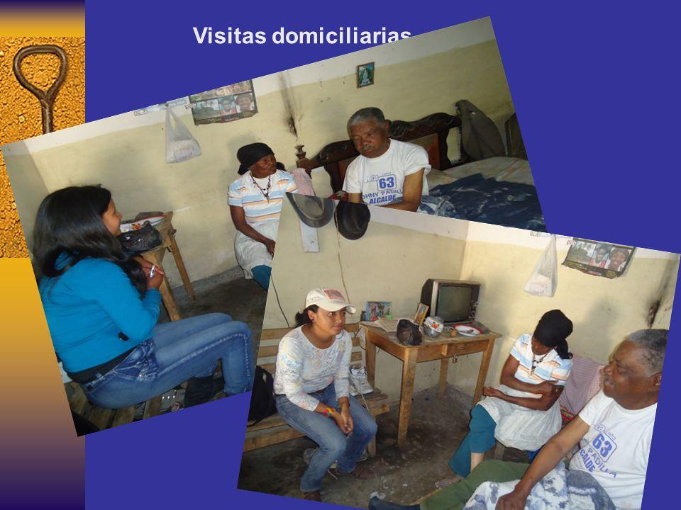 Autoria: Lorena Romo - Tatiana Quiranza Visitas domiciliarias