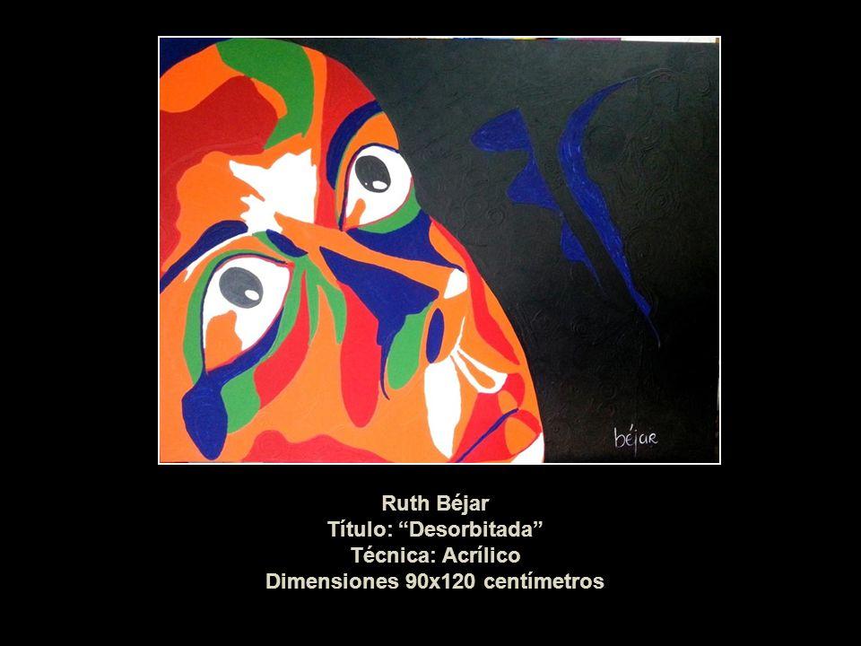 Título: Desorbitada Técnica: Acrílico Dimensiones 90x120 centímetros