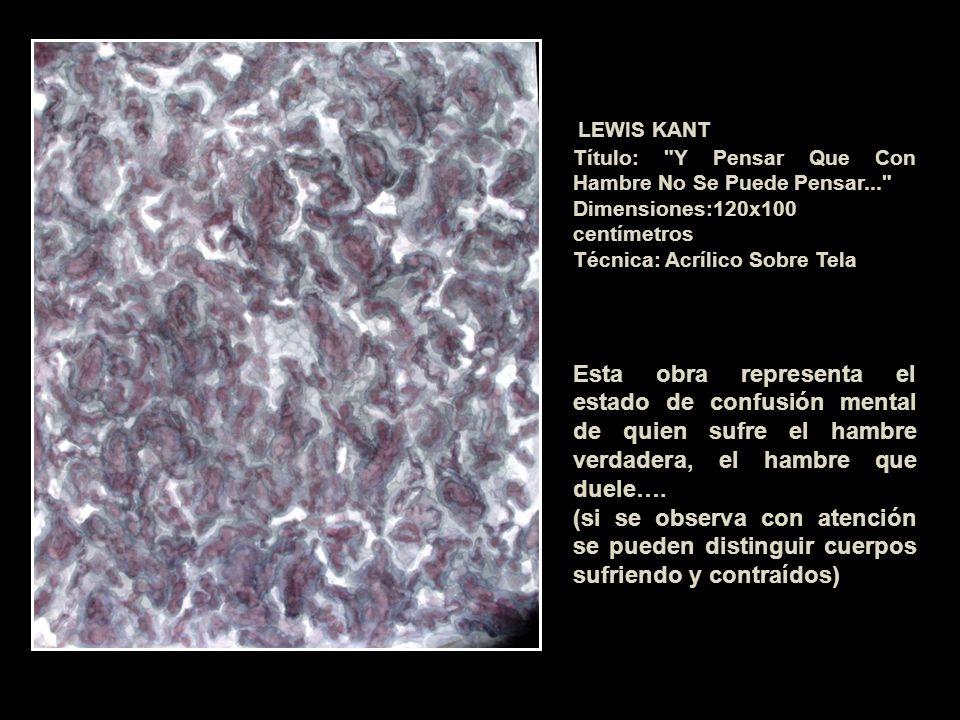 LEWIS KANT Título: