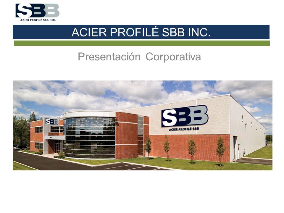 ACIER PROFILÉ SBB INC. Presentación Corporativa