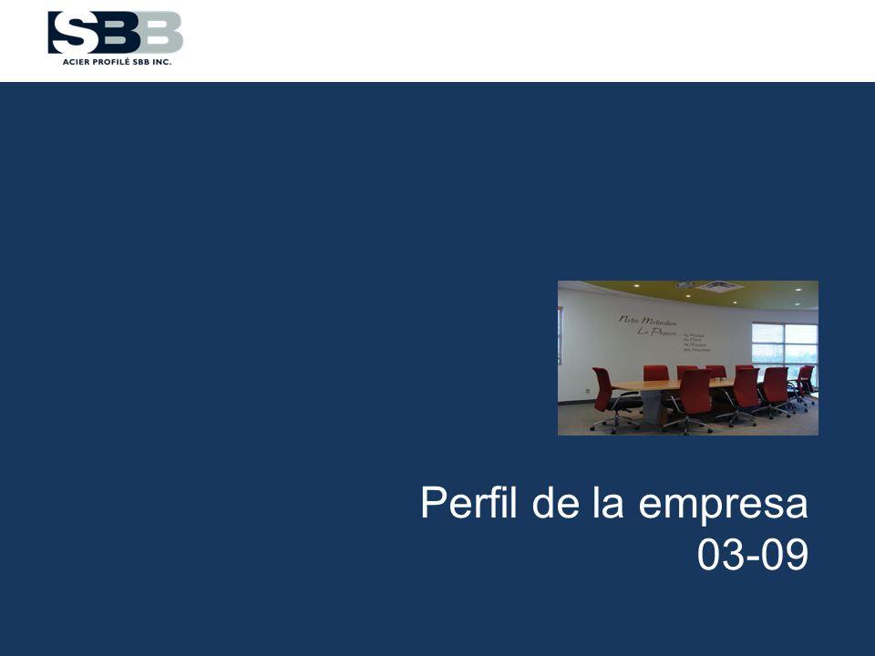 Grupo SBB– Información general Grupo SBB Fundada en 1973 Establecida en 3 divisiones 85 empleados Reparto de ingresos (2011)