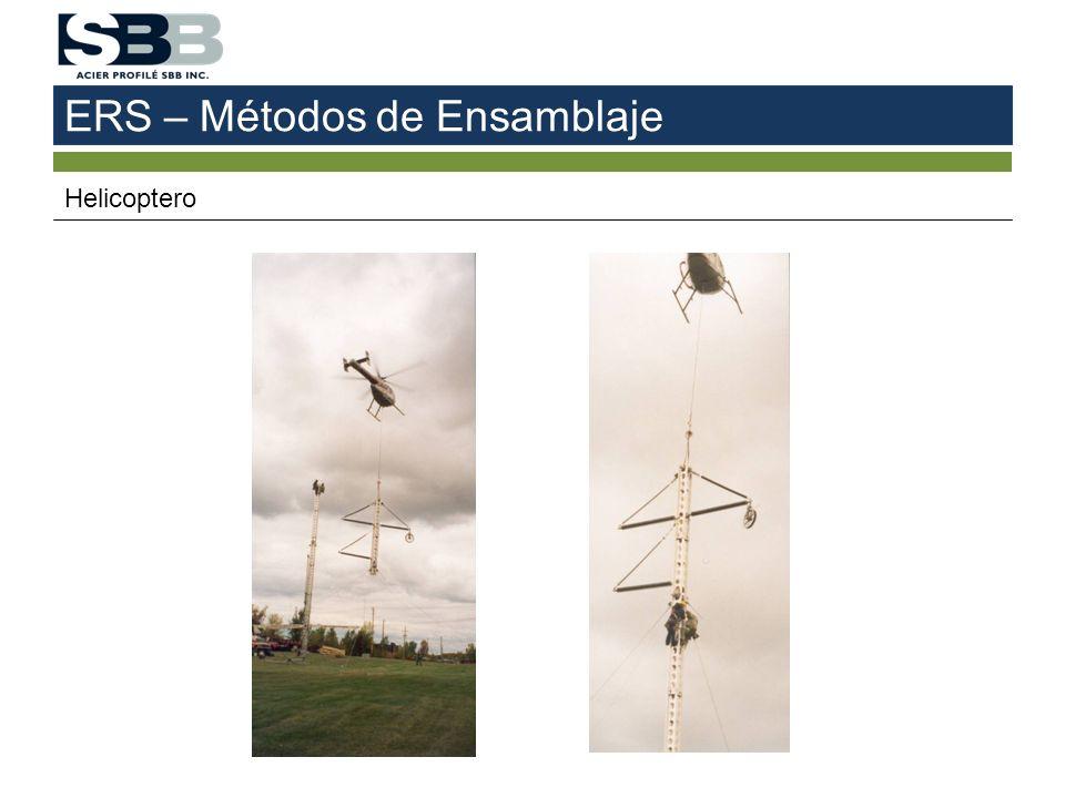 ERS – Métodos de Ensamblaje Helicoptero