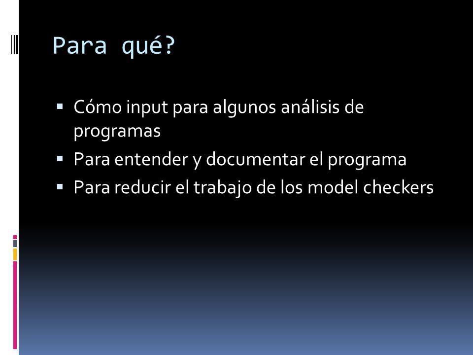 Idea Método para analizar la pureza de programas Java (no anotados).