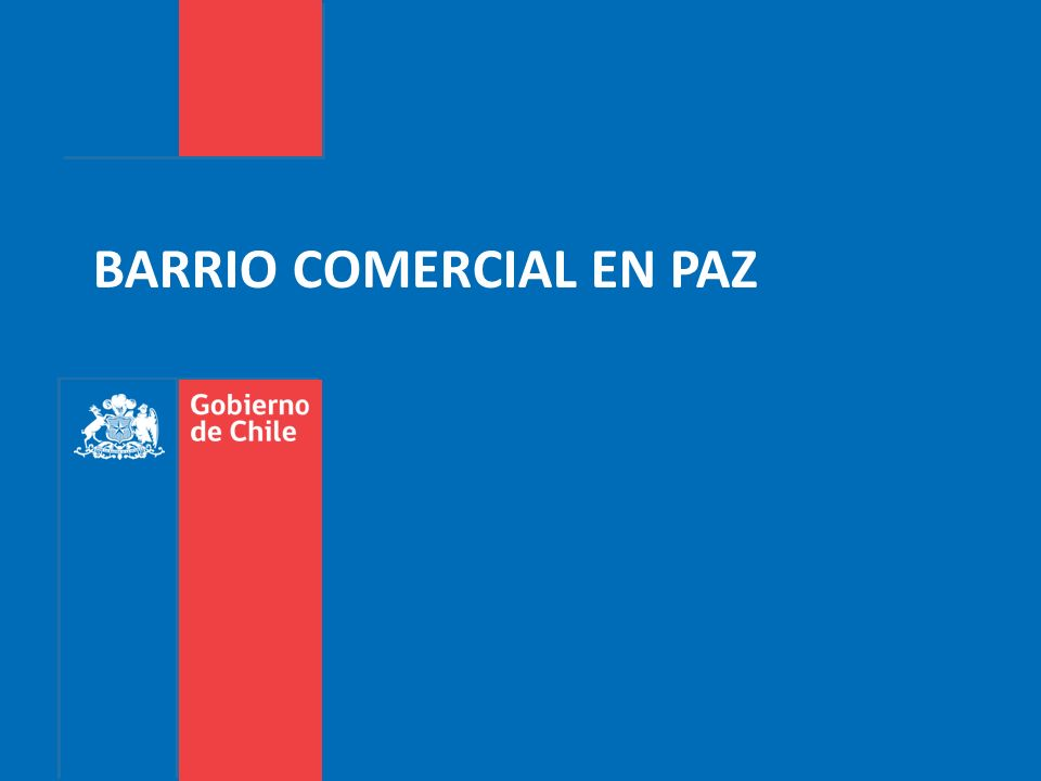 BARRIO COMERCIAL EN PAZ
