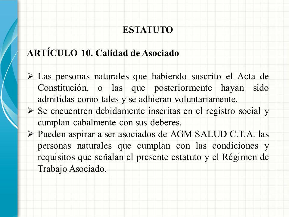 COOPERATIVAS DE TRABAJO ASOCIADO ESTATUTO REGIMEN DE TRABAJO ASOCIADO REGIMEN DE COMPENSACIONES RESOLUCION MINISTERIO DEL TRABAJO REGISTRO CAMARA DE C