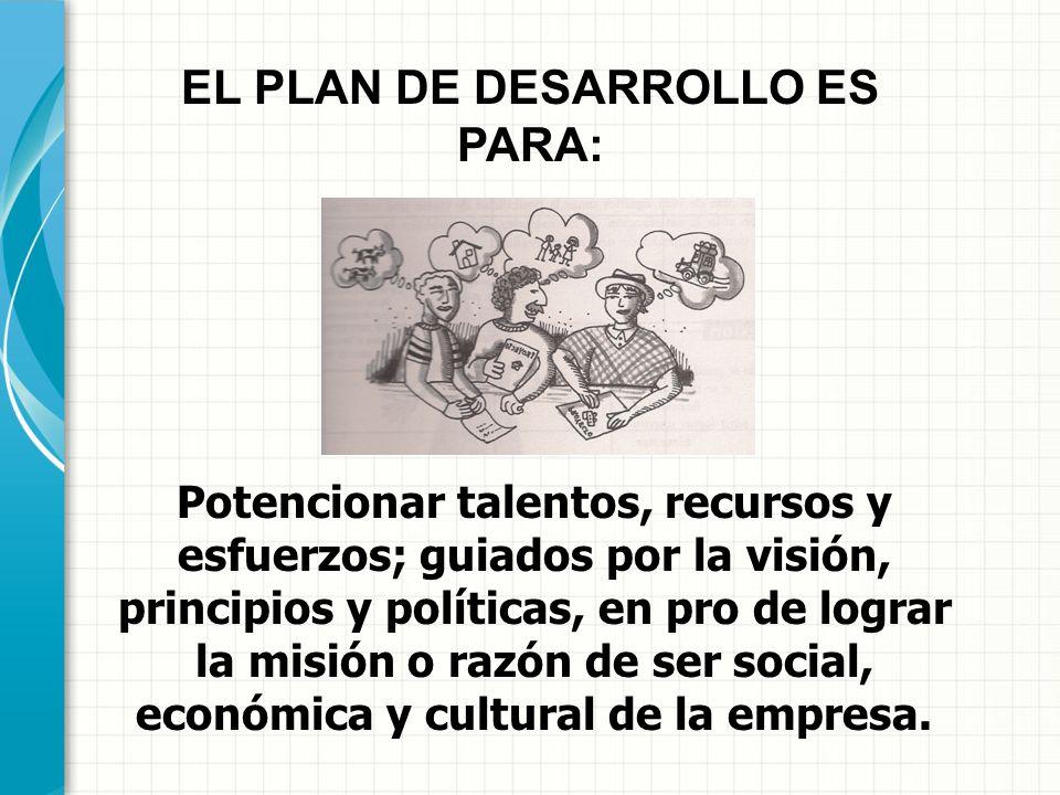 EL PESEMS ES PARA: Soportar el plan de desarrollo desde la alimentación, retroalimentación y reorientación de procesos, de manera dinámica, permanente