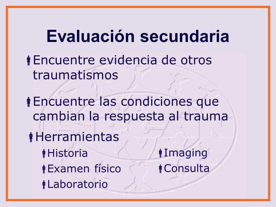 Historia Evento Detalle del traumatismo (desarrolle una cronología) Fuente de información Detalle los síntomas Condiciones del menor por 72 hrs.