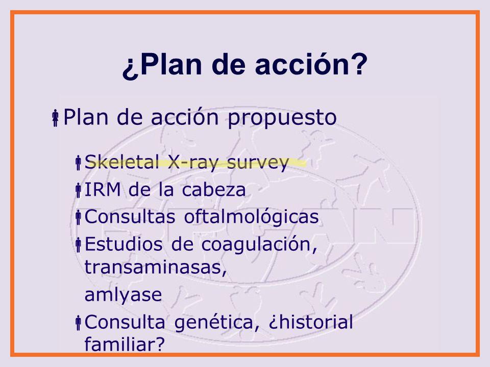 ¿Plan de acción.