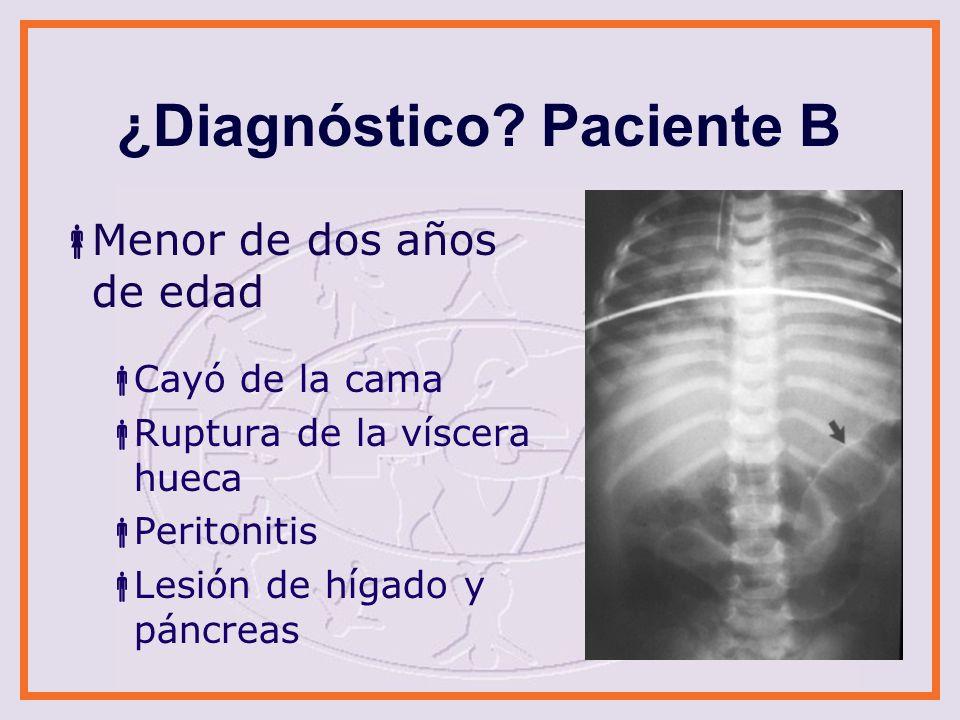 ¿Diagnóstico.