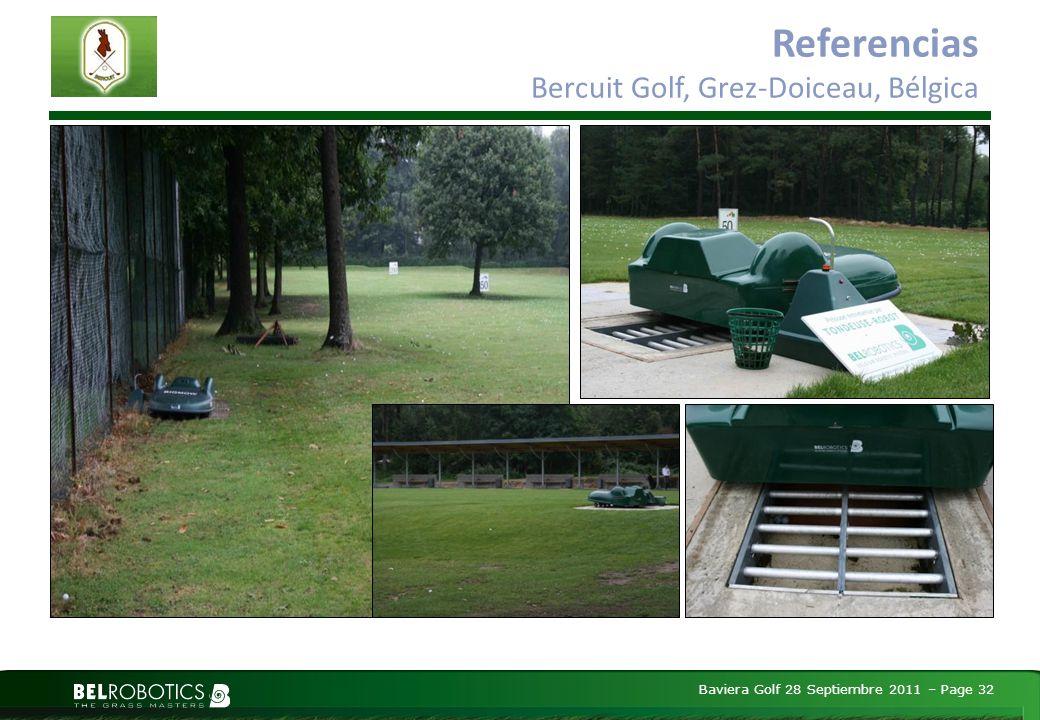 Baviera Golf 28 Septiembre 2011 – Page 32 Referencias Bercuit Golf, Grez-Doiceau, Bélgica