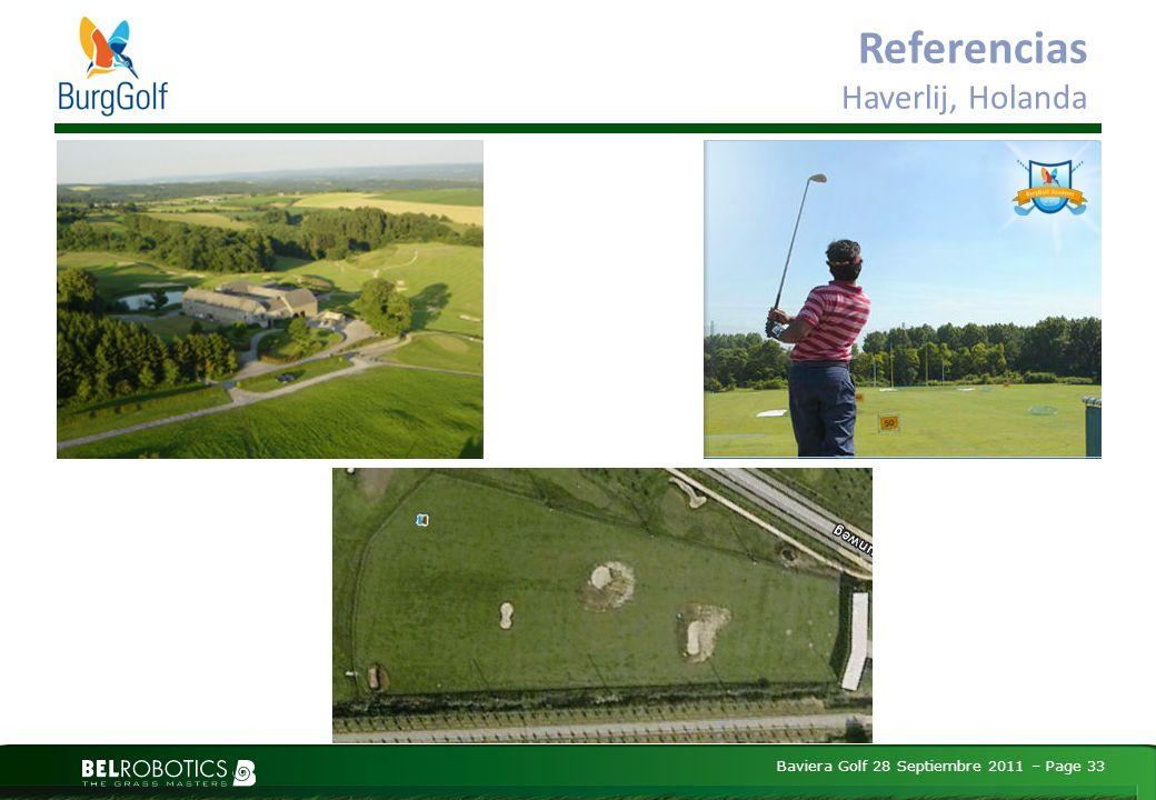 Baviera Golf 28 Septiembre 2011 – Page 33 Referencias Haverlij, Holanda