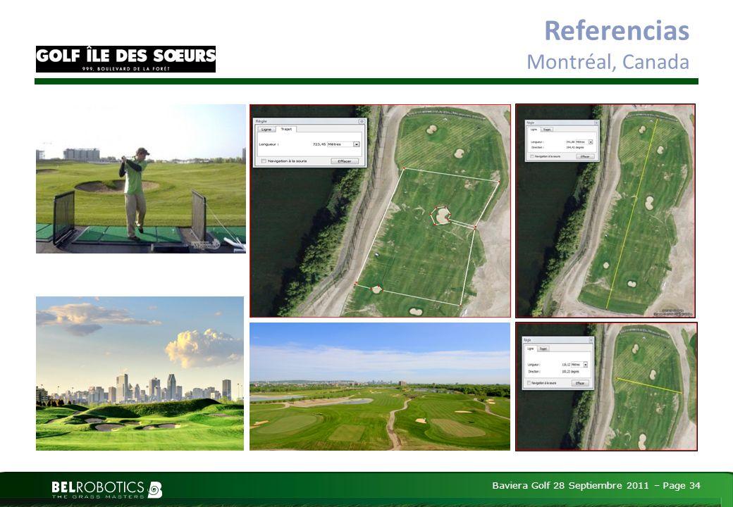 Baviera Golf 28 Septiembre 2011 – Page 34 Referencias Montréal, Canada