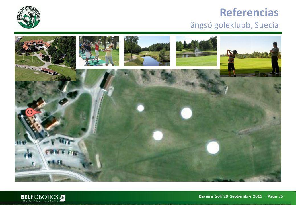 Baviera Golf 28 Septiembre 2011 – Page 35 Referencias ängsö goleklubb, Suecia