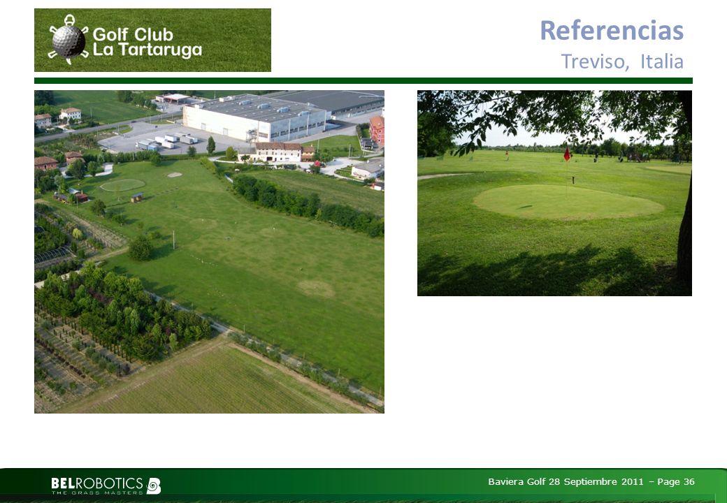Baviera Golf 28 Septiembre 2011 – Page 36 Referencias Treviso, Italia