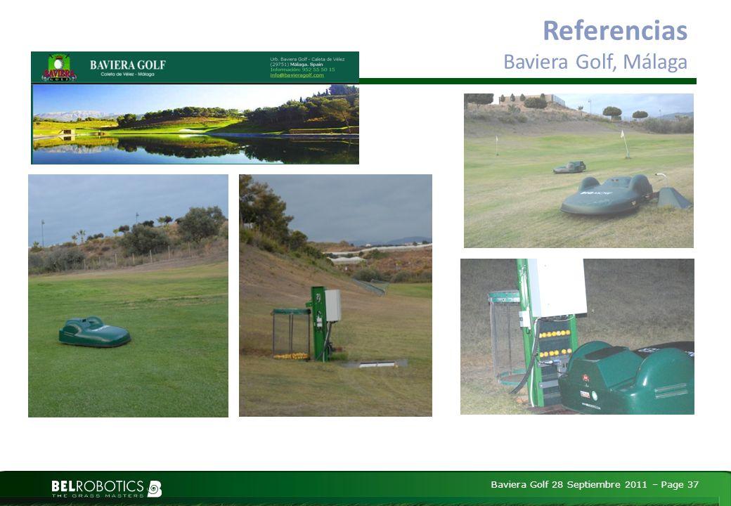 Baviera Golf 28 Septiembre 2011 – Page 37 Referencias Baviera Golf, Málaga