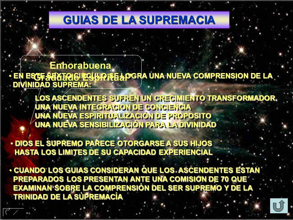 GUIAS DE LA SUPREMACIA EN ESTE SEXTO CIRCULO SE LOGRA UNA NUEVA COMPRENSION DE LA EN ESTE SEXTO CIRCULO SE LOGRA UNA NUEVA COMPRENSION DE LA DIVINIDAD