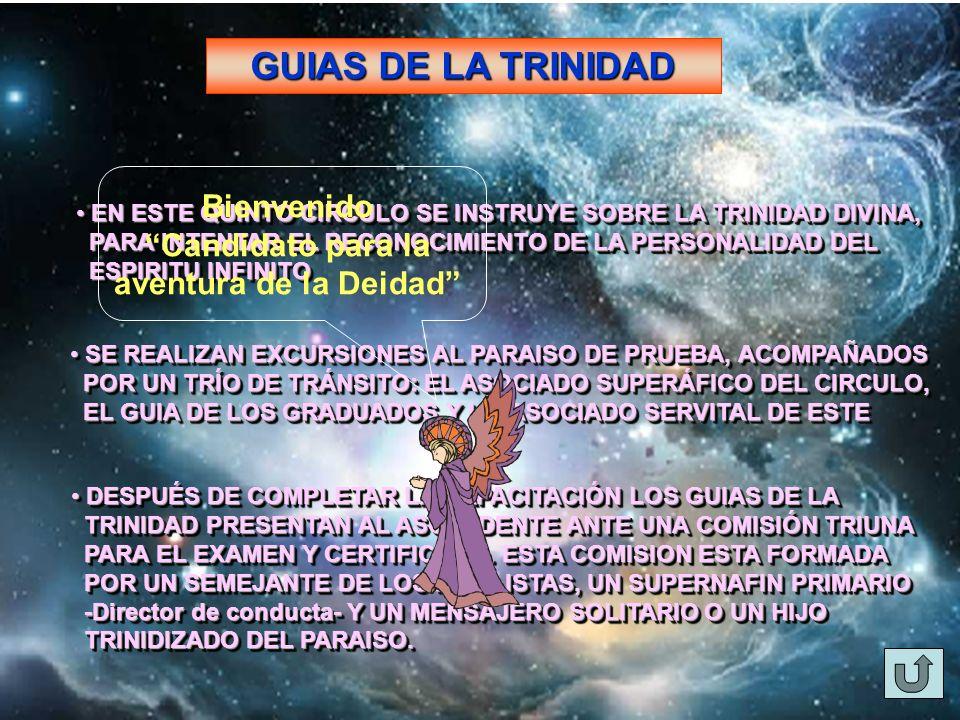GUIAS DE LA TRINIDAD EN ESTE QUINTO CIRCULO SE INSTRUYE SOBRE LA TRINIDAD DIVINA, EN ESTE QUINTO CIRCULO SE INSTRUYE SOBRE LA TRINIDAD DIVINA, PARA IN