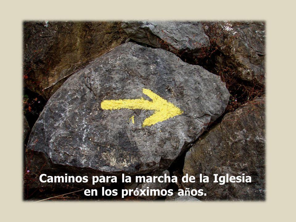 Caminos para la marcha de la Iglesia en los pr ó ximos a ñ os.