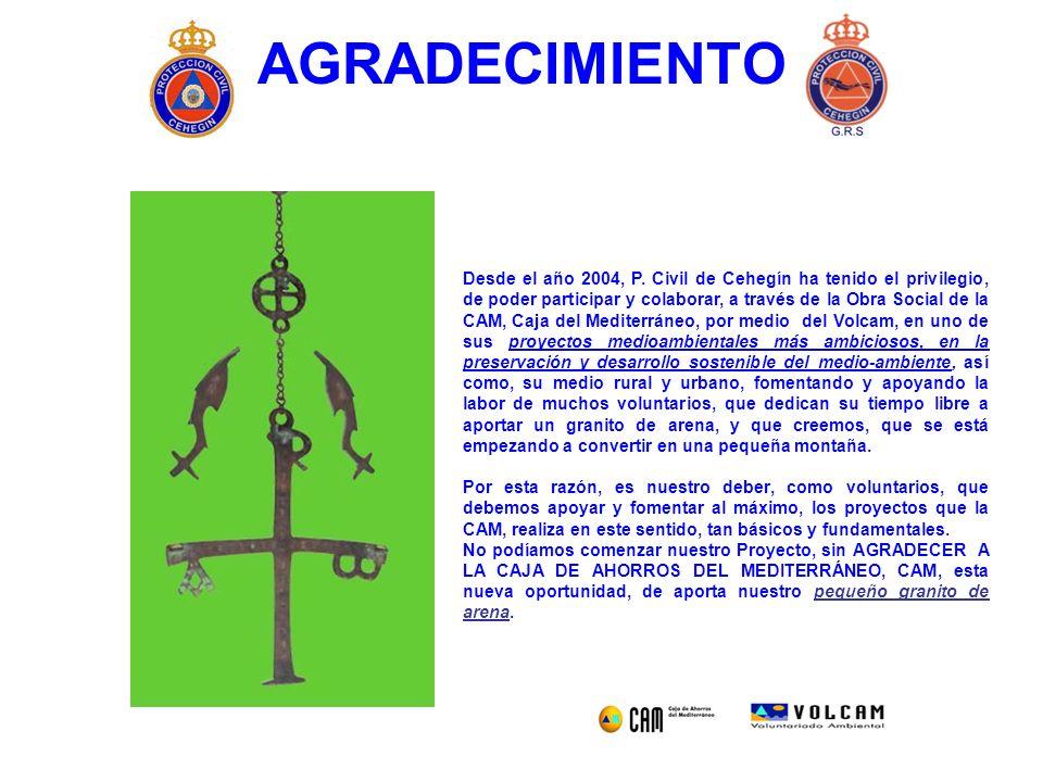 AGRADECIMIENTO Desde el año 2004, P.