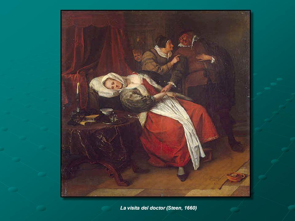 La visita del doctor (Steen, 1660)