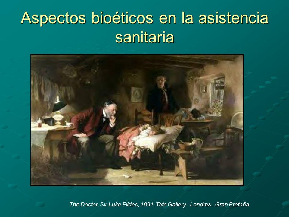 Aspectos bioéticos en la asistencia sanitaria The Doctor.