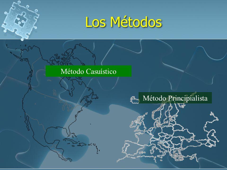 Los Métodos Método Casuístico Método Principialista