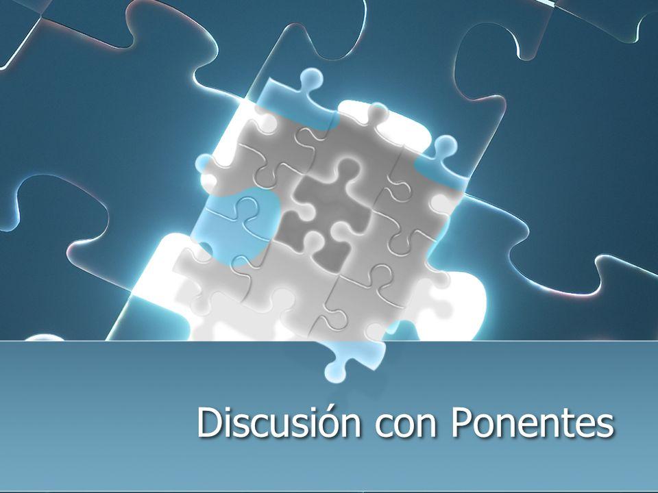Discusión con Ponentes