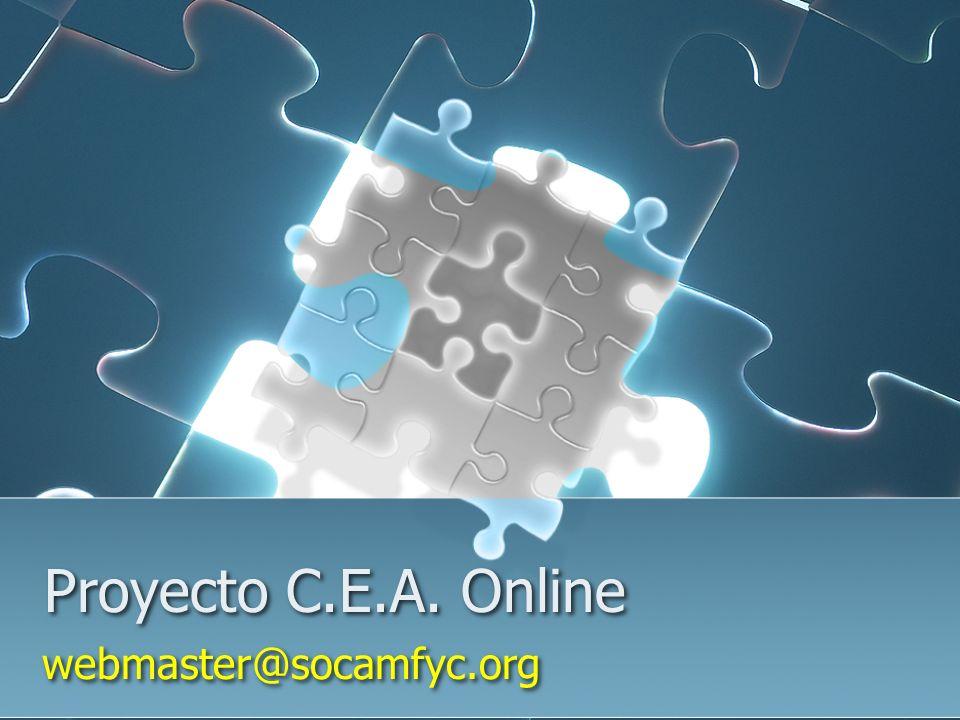 Proyecto C.E.A. Online webmaster@socamfyc.org