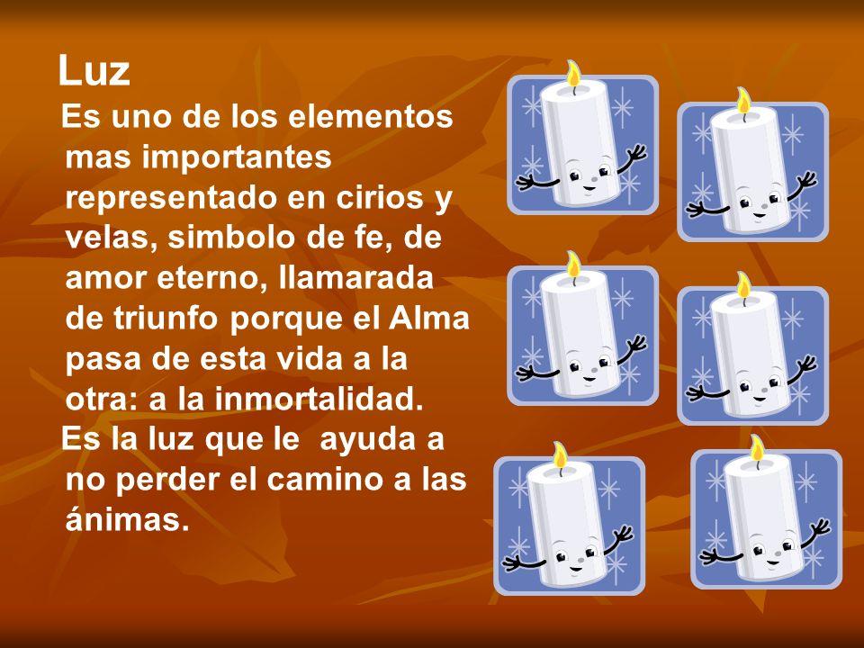 Sal Evita que el cuerpo se corrompa; invitación al banquete de la ofrenda, como elemento de purificación y sabiduría