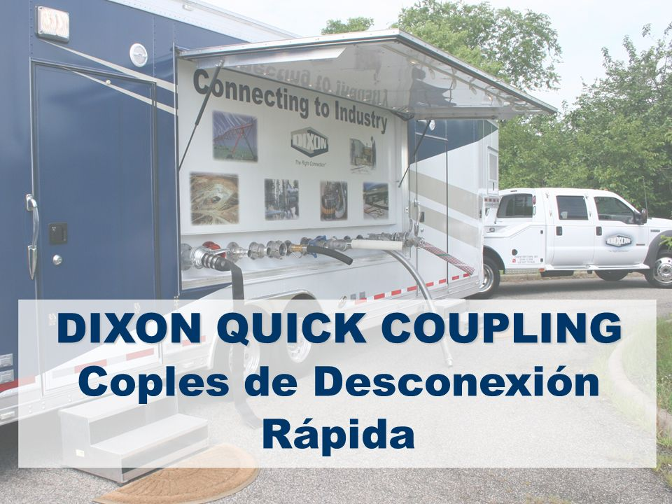 Coples de Desconexión Rápida DIXON QUICK COUPLING
