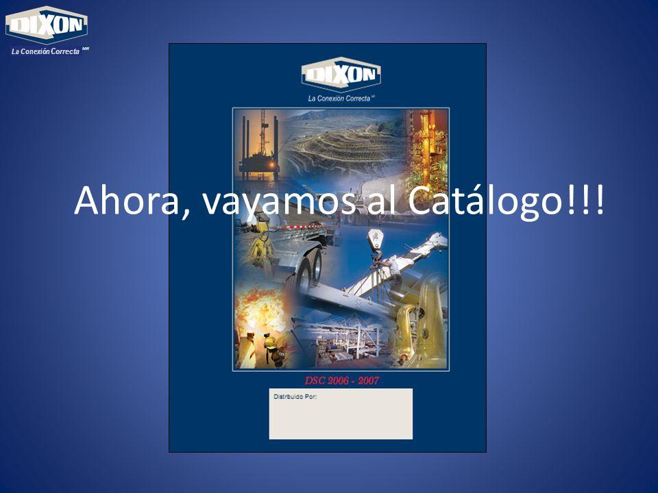 MR La Conexión Correcta Ahora, vayamos al Catálogo!!!