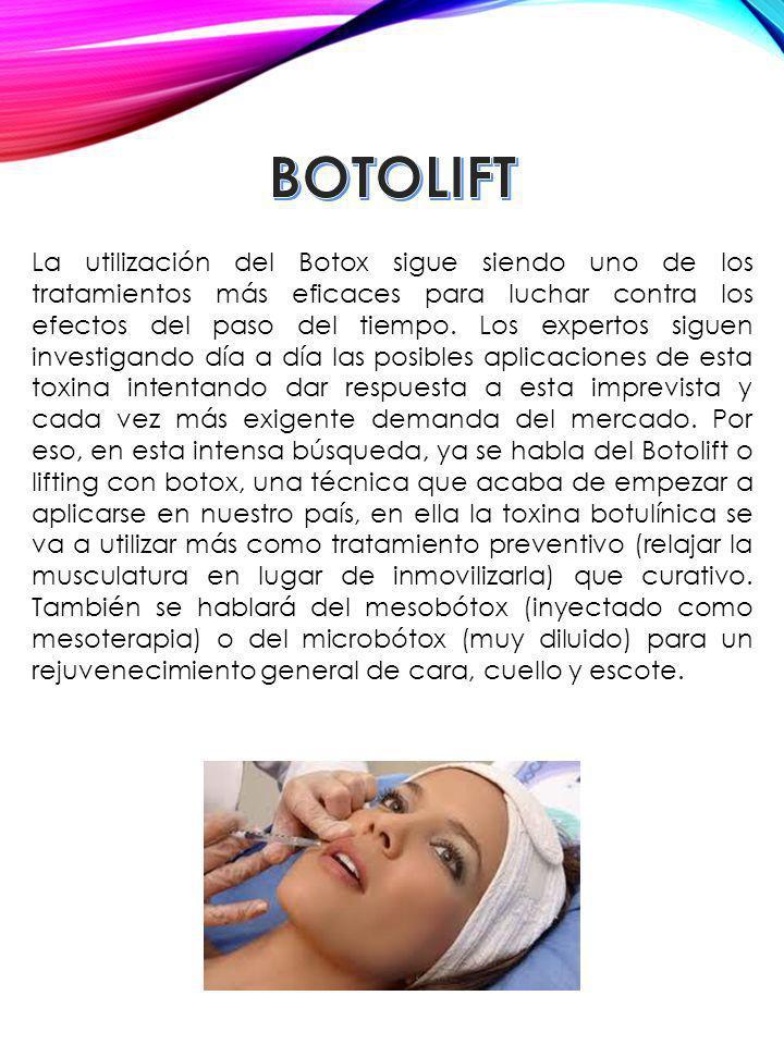 La utilización del Botox sigue siendo uno de los tratamientos más eficaces para luchar contra los efectos del paso del tiempo. Los expertos siguen inv