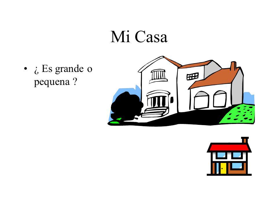 Ma maison ¿ Depuis combien de temps habites tu ta maison ? =