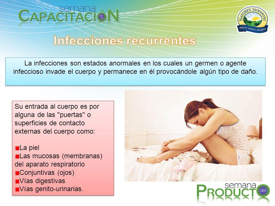 La infecciones son estados anormales en los cuales un germen o agente infeccioso invade el cuerpo y permanece en él provocándole algún tipo de daño.