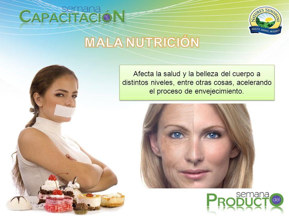 Afecta la salud y la belleza del cuerpo a distintos niveles, entre otras cosas, acelerando el proceso de envejecimiento.