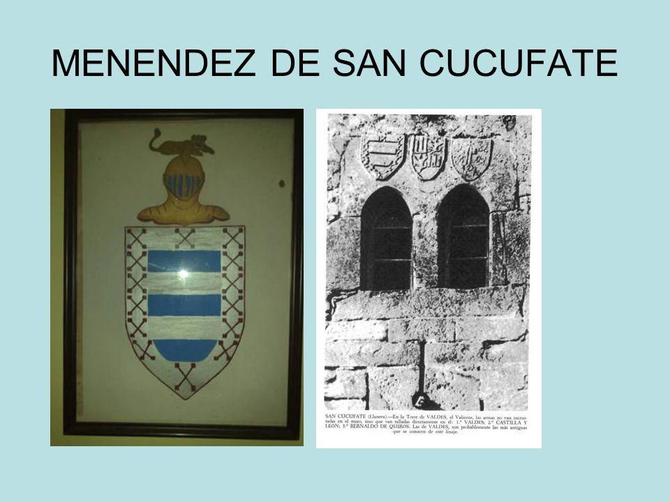 MENENDEZ DE SAN CUCUFATE