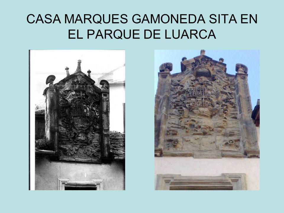 CASA MARQUES GAMONEDA SITA EN EL PARQUE DE LUARCA