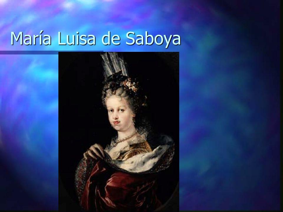 María Luisa de Saboya