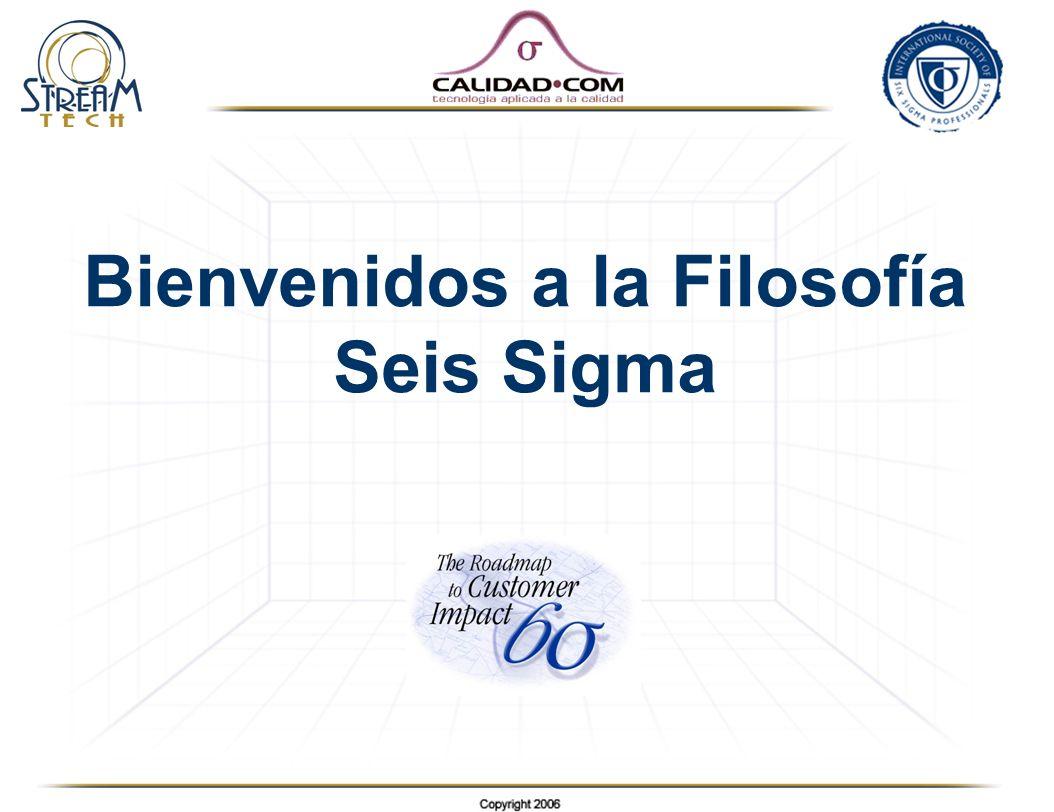 Bienvenidos a la Filosofía Seis Sigma