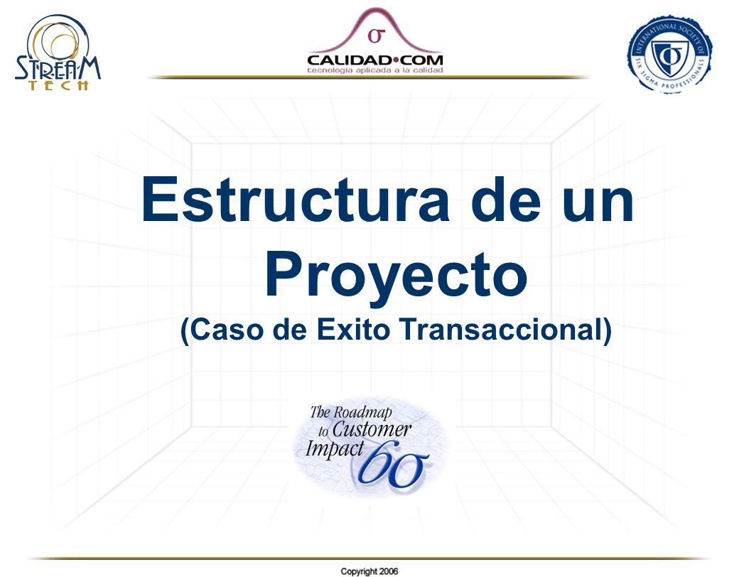 Estructura de un Proyecto (Caso de Exito Transaccional)