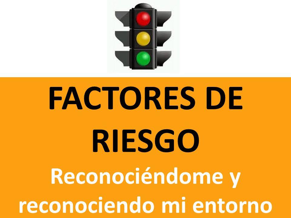 FACTORES DE RIESGO Reconociéndome y reconociendo mi entorno