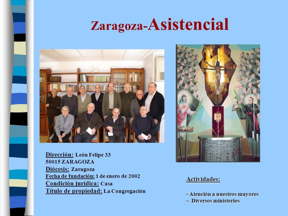Zaragoza-Curia Dirección: S.