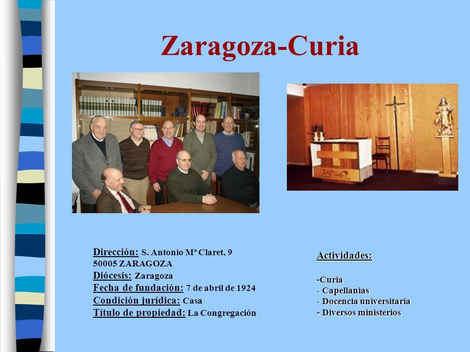 Parroquia- Zaragoza Dirección: Av.