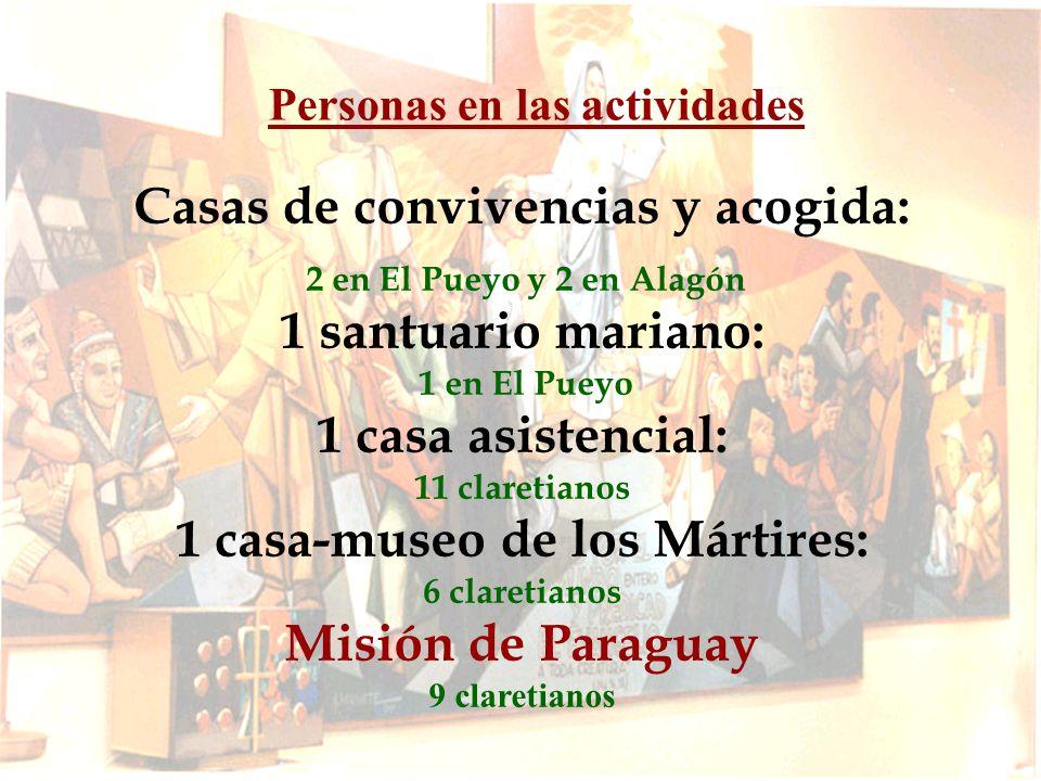 Seminarios El desafió de implantar la Congregación en Paraguay.