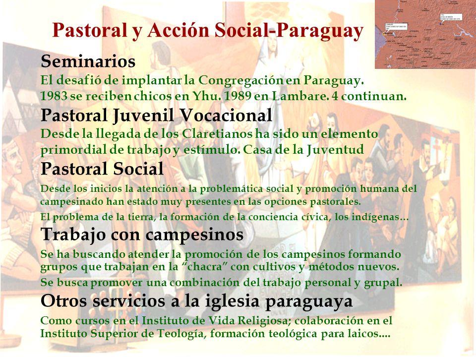 Inculturación: Es una urgencia seguir asumiendo las claves culturales fundamentales para comprender y acompañar al pueblo paraguayo.