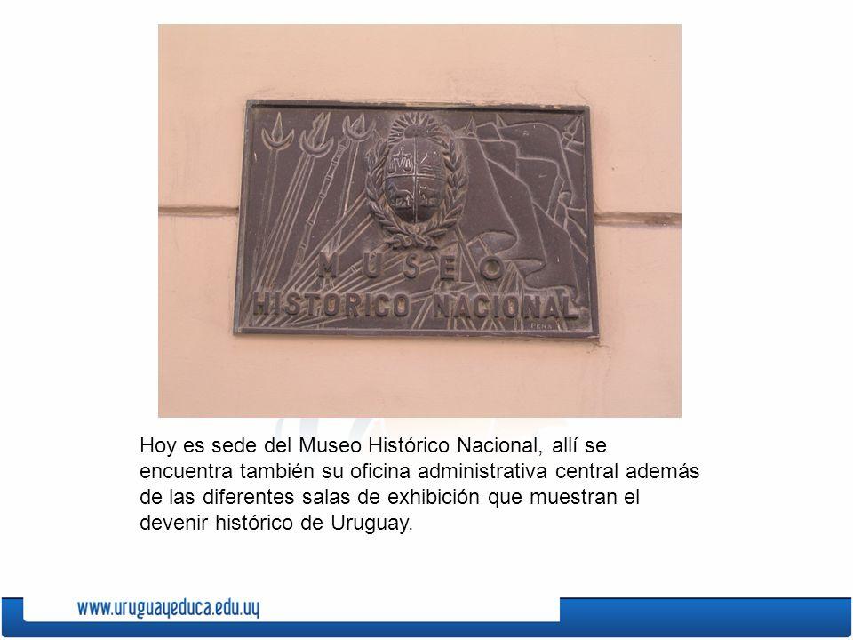 Hoy es sede del Museo Histórico Nacional, allí se encuentra también su oficina administrativa central además de las diferentes salas de exhibición que