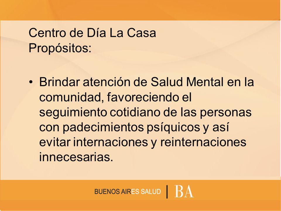 Objetivos: Una instancia terapéutica orientada hacia la inclusión social integral, desarrollando potencialidades creativas y apuntando a disminuir o terminar con la discapacidad social.