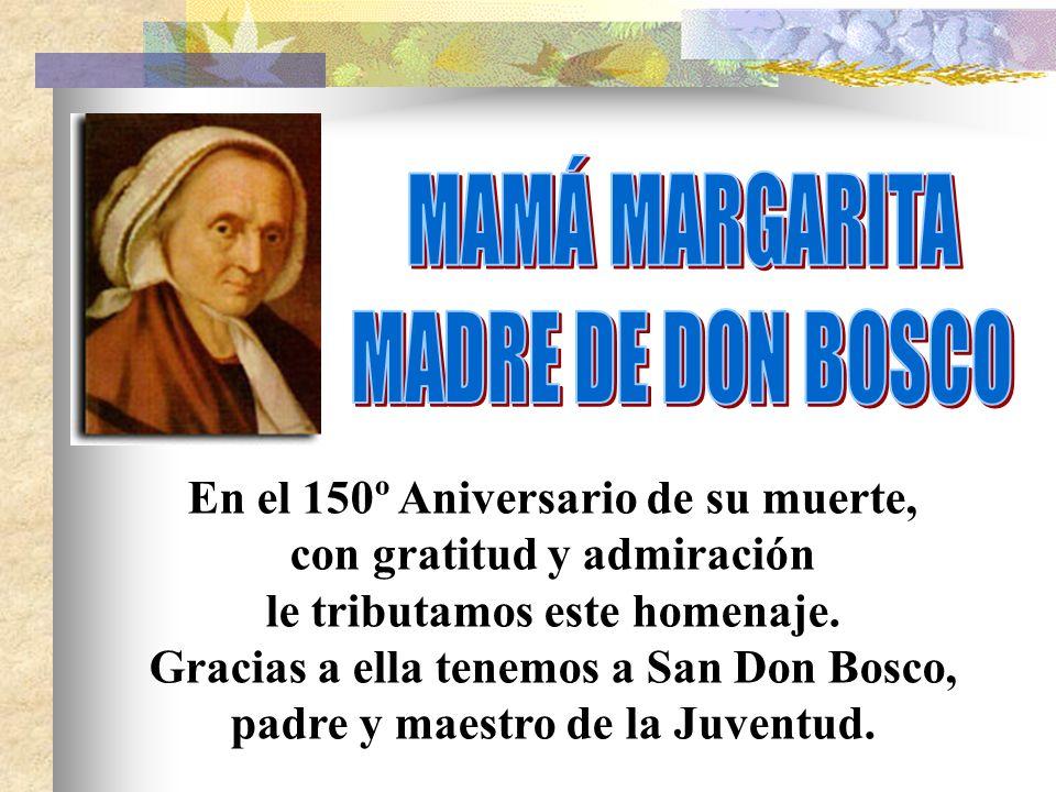 Otoño de 1846.Mamá Margarita tiene 58 años y Don Bosco 31.
